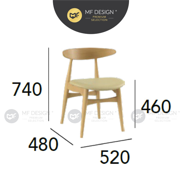 MFD Premium Tracy Dining Chair / kerusi / chair