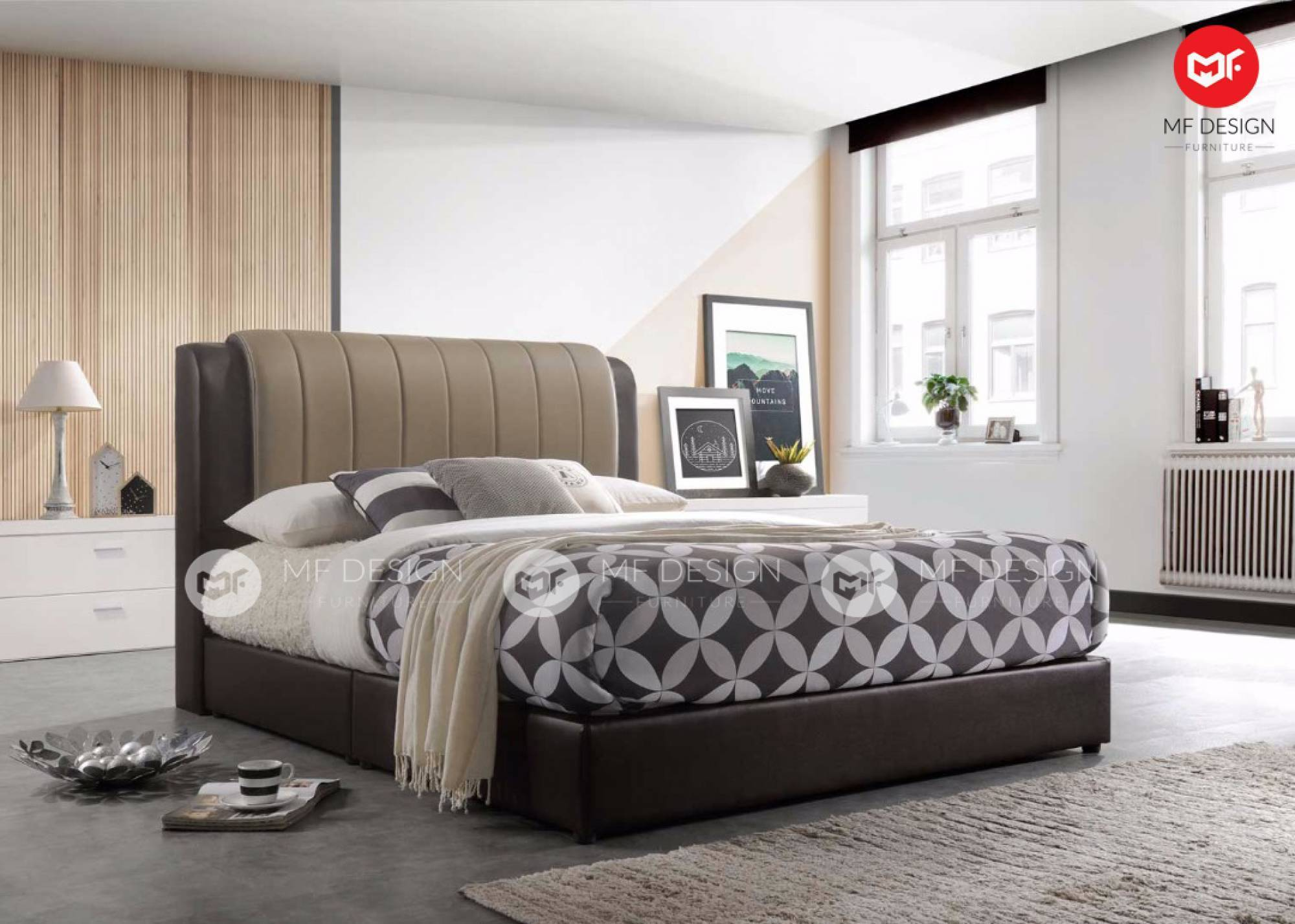 mfdesign88 TRISTAN QUEEN SIZE DIVAN BED