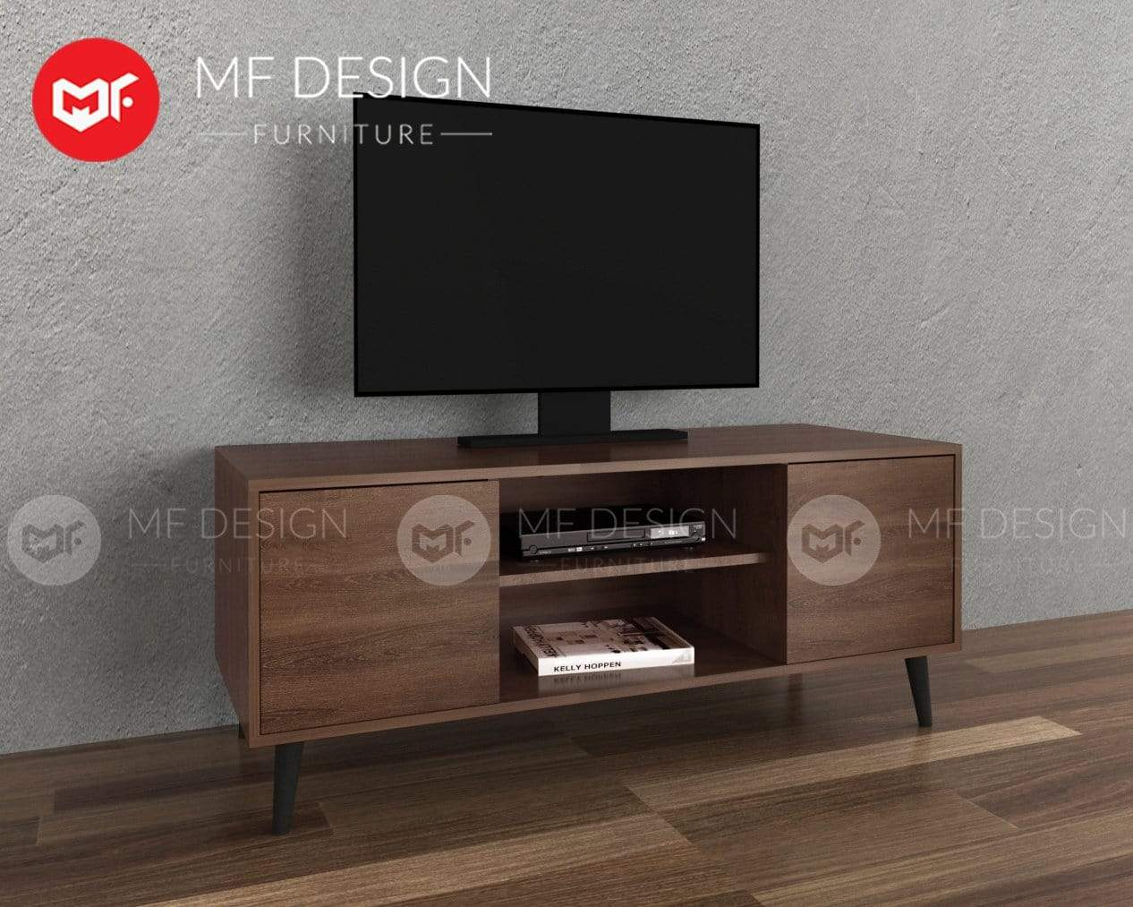 mfdesign88 TV CABINET 4FT MF DESIGN ROBIN TV CABINET RACK 4FT