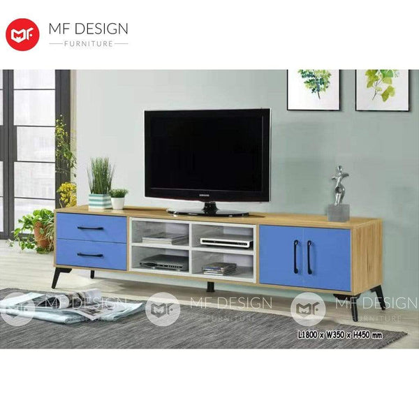 7 TV CABINET 6FT KINDER TV CABINET