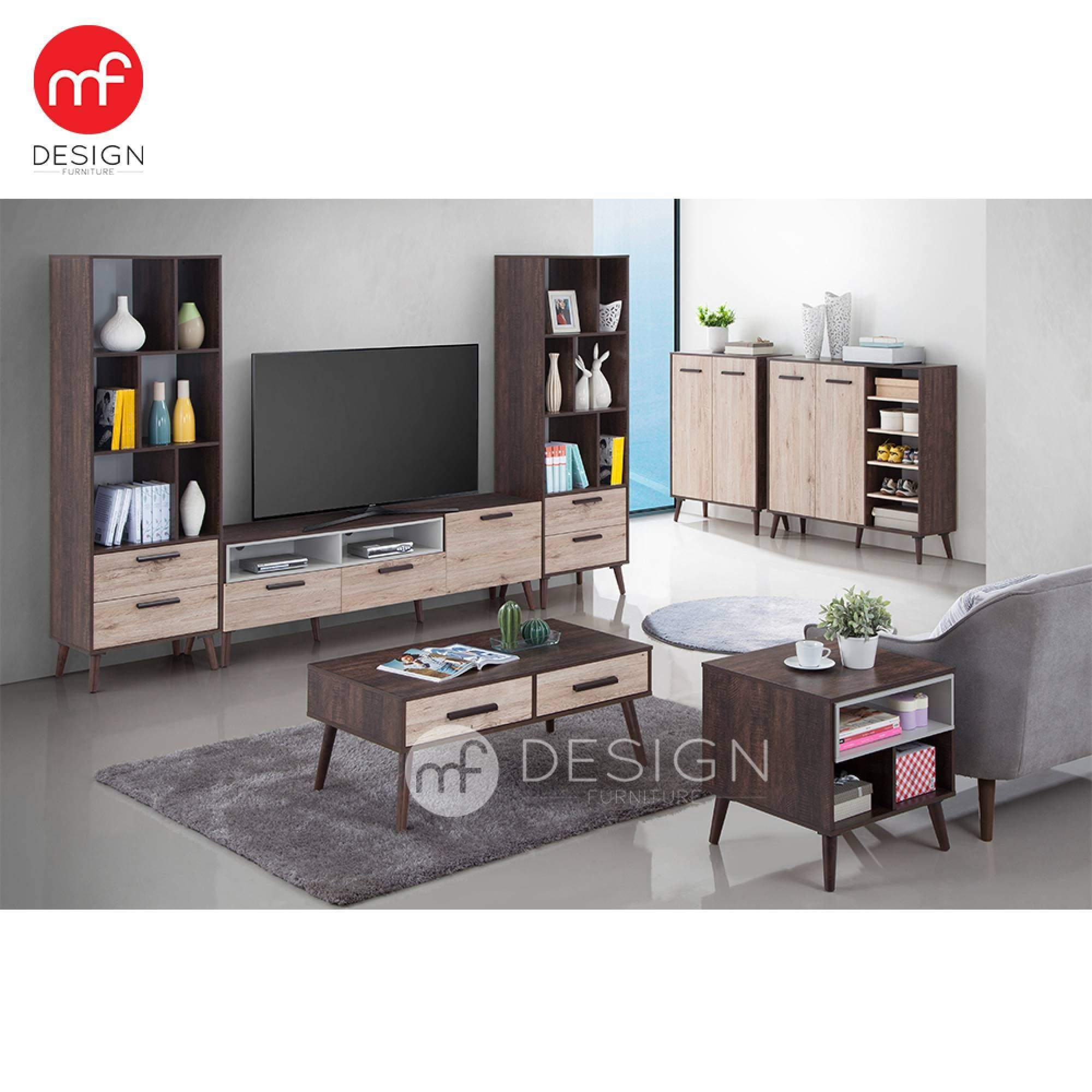 mfdesign88 TV CABINET 6FT MF DESIGN ERIKO TV CABINET 6 FEET