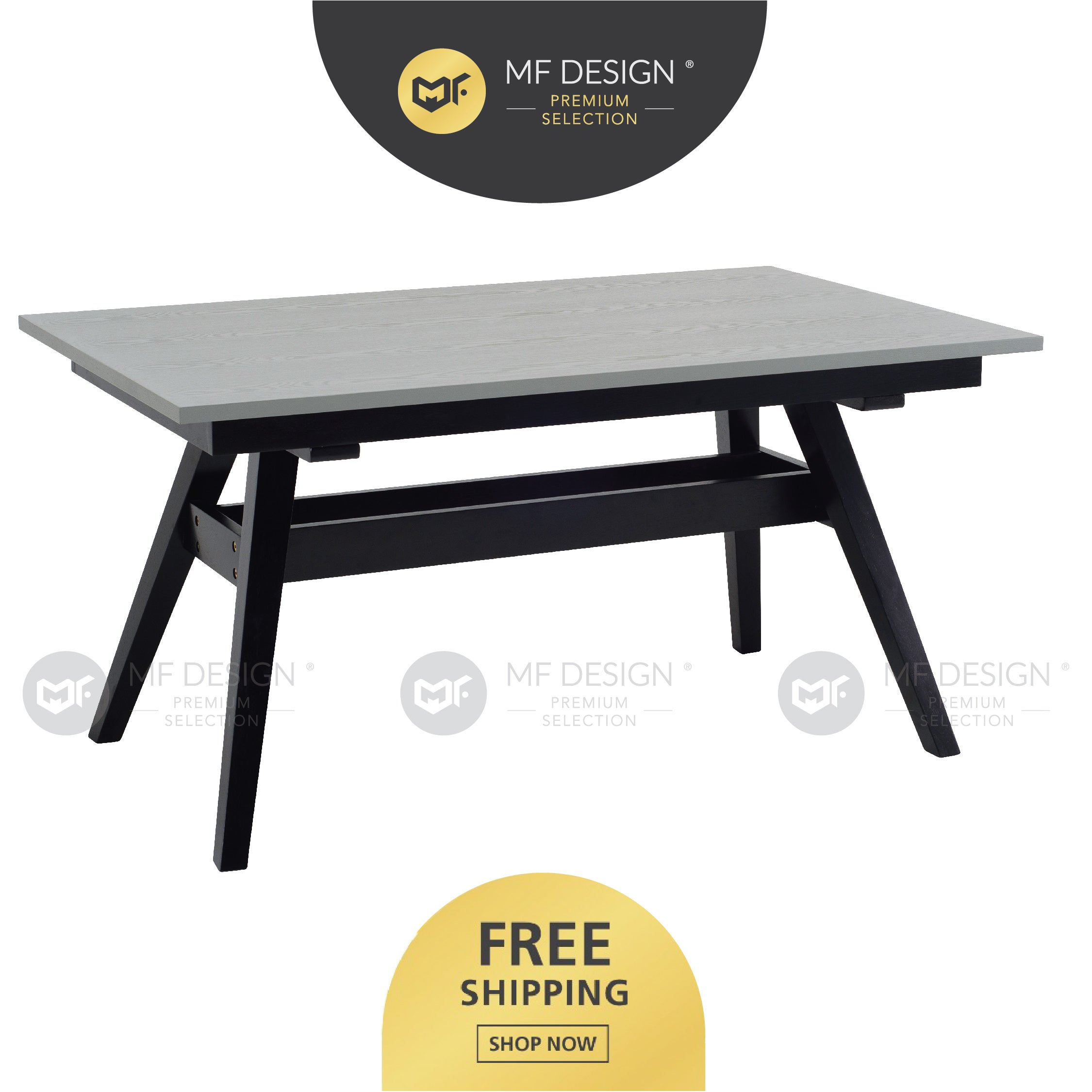 MFD Premium Victor Dining Table / Meja Makan / Table