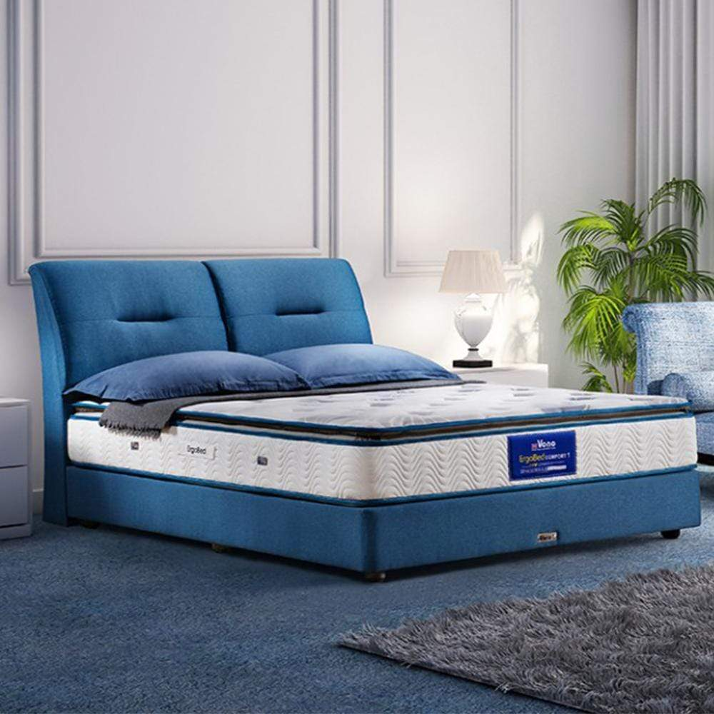 mfdesign88 Vono ErgoBed Comfort 1 Mattress (15 Years Warranty), Pocketed Intalok Spring 1200, Size: 11' Top to Bottom