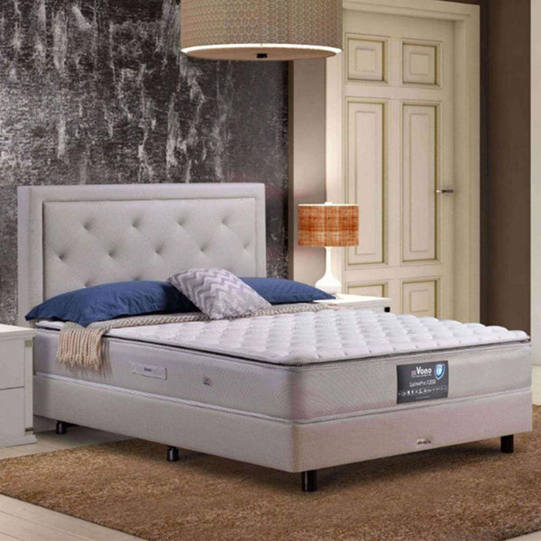 mfdesign88 Vono SpinePro 1200 Mattress (15 Years Warranty), Pocketed Intalok Spring 1200, Exclusive SilverGuard™ Treated Fabric, Size: 11.5' Top to Bottom