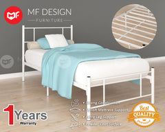 Fantastic Single Metal Bed