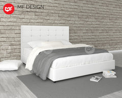 GRORIOUS DIVAN BED (Queen/King) (Black/ White)