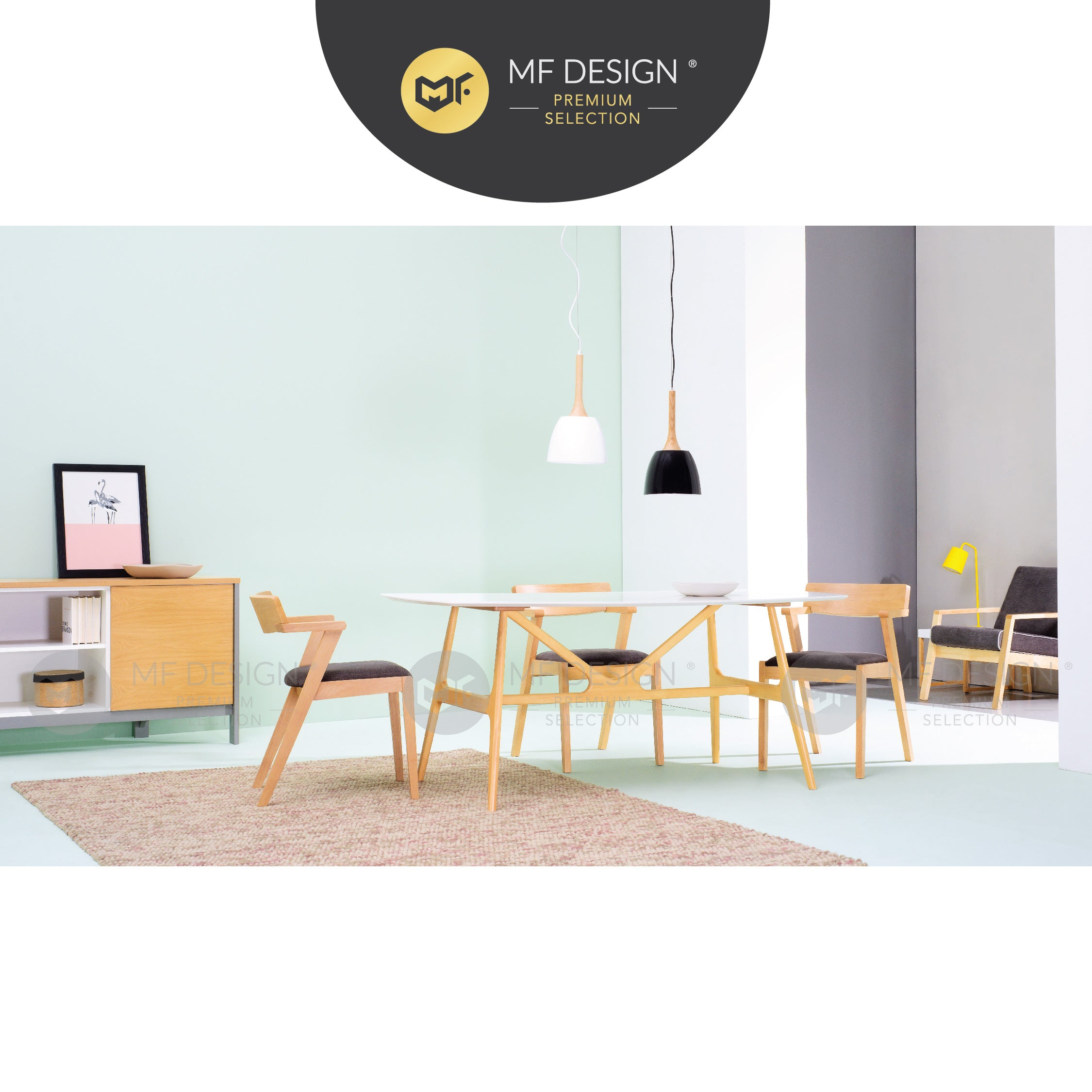 MFD Premium Zoe Dining Chair  / kerusi / chair