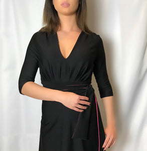 THAT DRESS ~ BLACK AND PINK