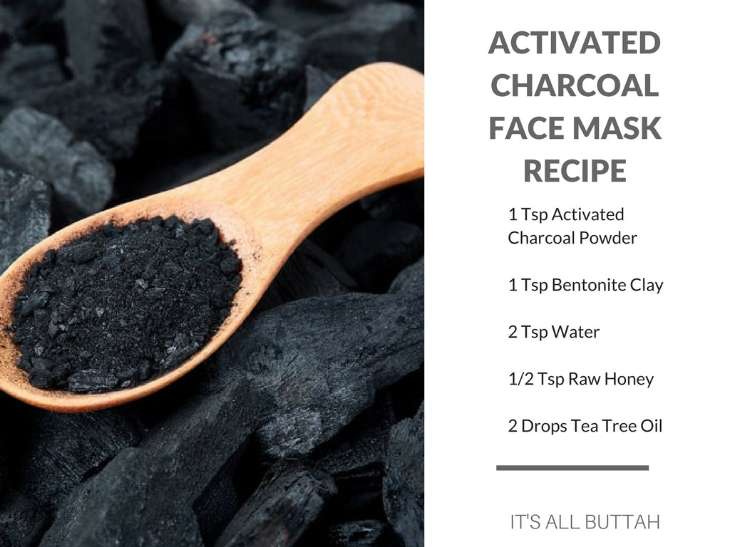 Activated Charcoal Face Mask Recipe for Oily Skin