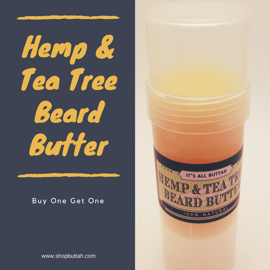 Hemp and Tea Tree Body Butter Buy One Get One FREE