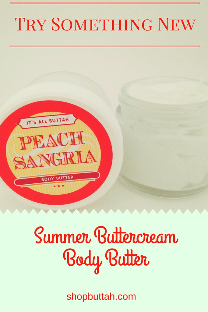 Peach Sangria Summer Buttercream Body Butter