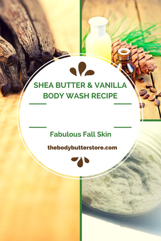 Shea Butter Body Wash Recipe