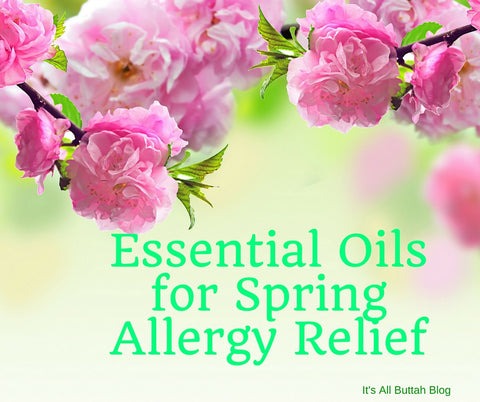 Essential Oils For Spring Allergy Relief
