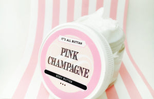 Pink Champagne Body Butter - It's All Buttah'   - 1