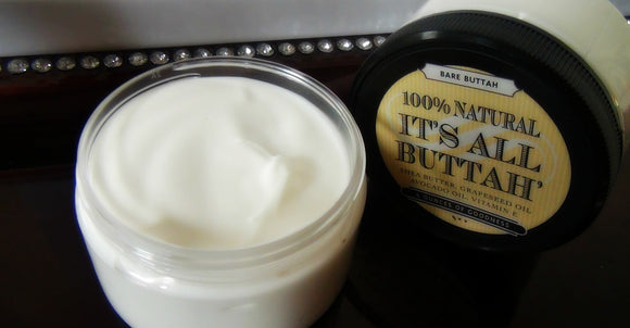 Scent Free Body Butter - It's All Buttah'   - 1