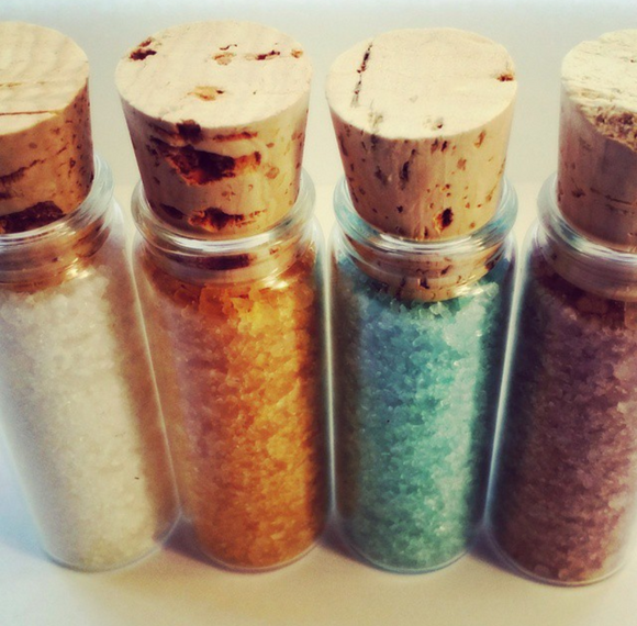 Hemp Aromatherapy Bath Salt Set