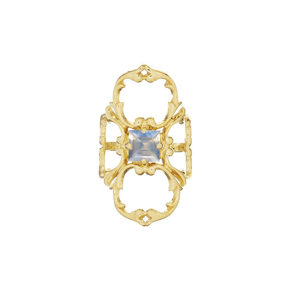 KALEIDOSCOPE WRAP RING - LIMITED EDITION  BLUE MOONSTONE