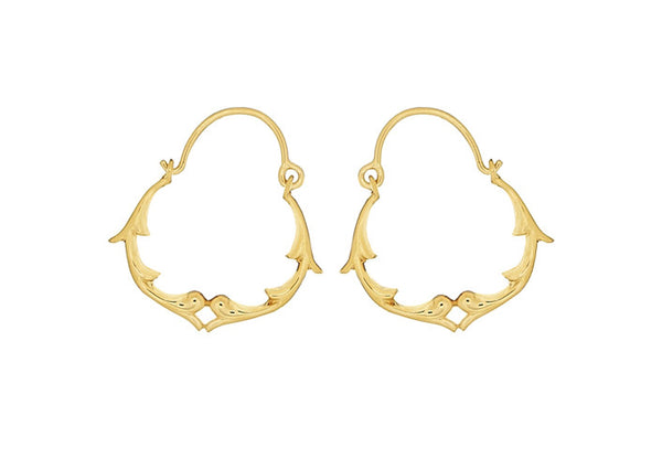 KALEIDOSCOPE HOOP EARRINGS