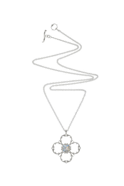 KALEIDOSCOPE STAR PENDANT - LIMITED EDITION - BLUE MOONSTONE