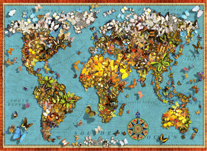 Butterfly World Map