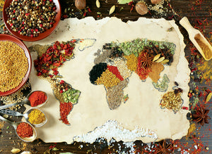 Herbal World Map