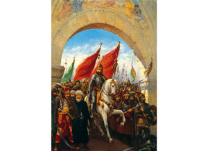 Entering to Constantinople