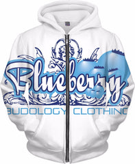 BLUEBERRY HODDIE - BUDOLOGY CLOTHING LLC