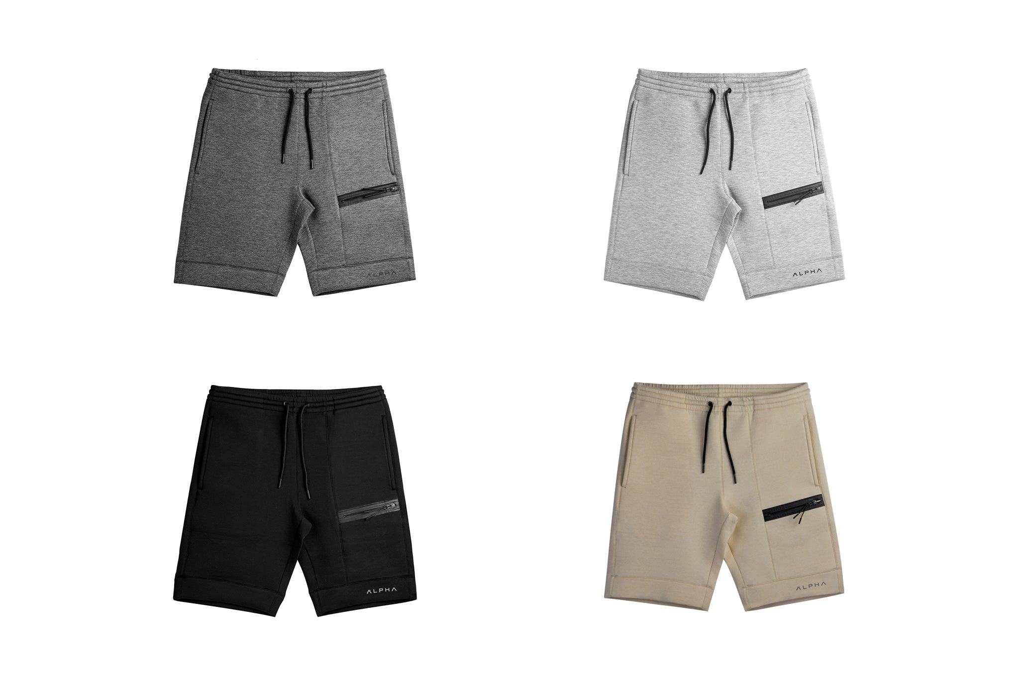 Alpha Clothing Jogger Shorts