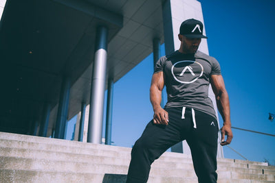 The Break Athleti-Fit™ Tee - Charcoal/Bronze