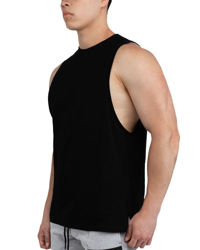 Grounded Performance Tank - Black
