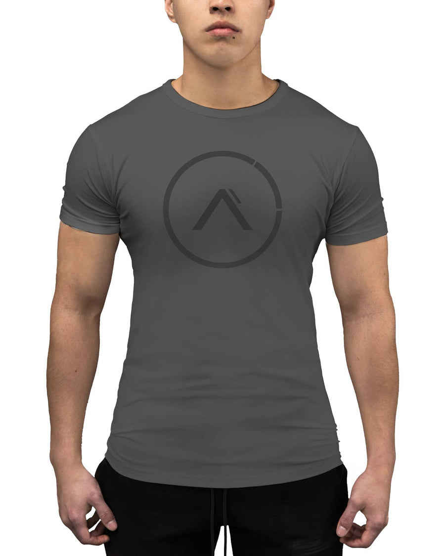 The Break Athleti-Fit™ Tee - Cement