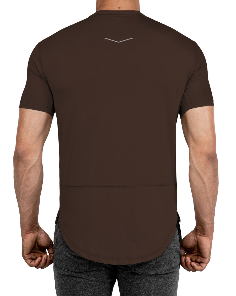Grounded Performance Tee - Deep Earth