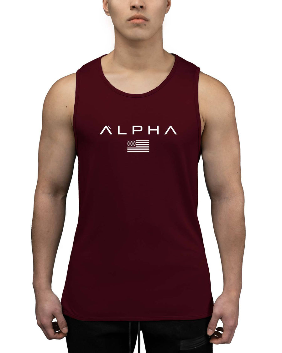 Alpha Flag Athleti-Fit™ Tank - Forge