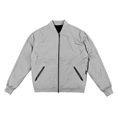 Tech Zip Performance Jacket - Grey
