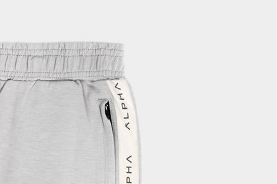 Striped Track Pant - Stone/White