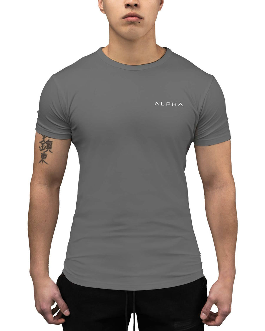 Identity Athleti-Fit™ Tee - Cement