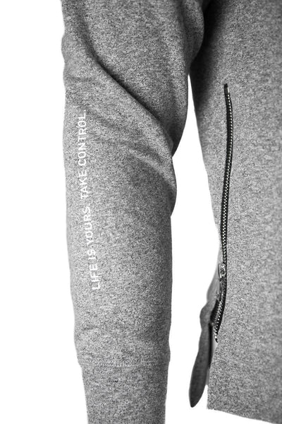Alpha Pullover hoodie - heather grey