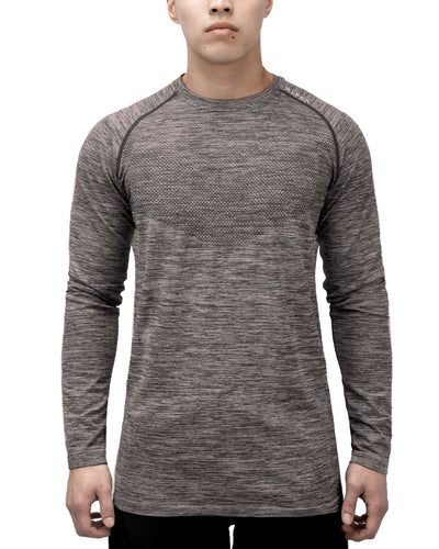 3D KNITTED™ Performance Shirt - Long Sleeve - Moon Rock