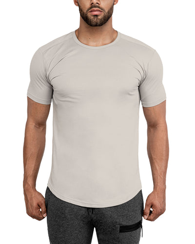 Grounded Performance Tee - Sand