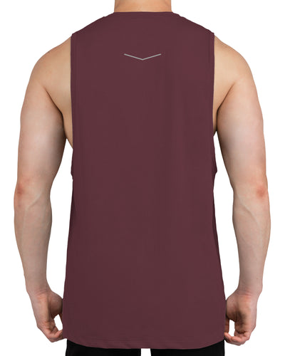 Grounded Performance Tank - Stone Rose