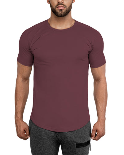 Grounded Performance Tee - Stone Rose