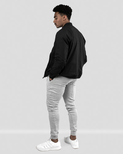 Tech Zip Performance Bomber - Black