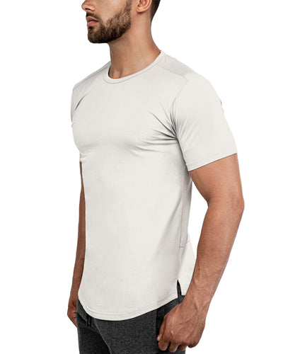Grounded Performance Tee - Bone
