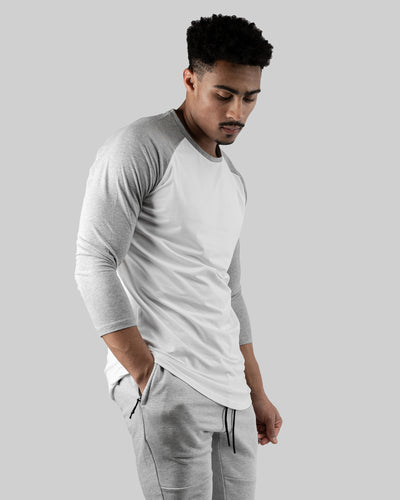 Raglan Athleti-Fit™ - Stamped - White Base