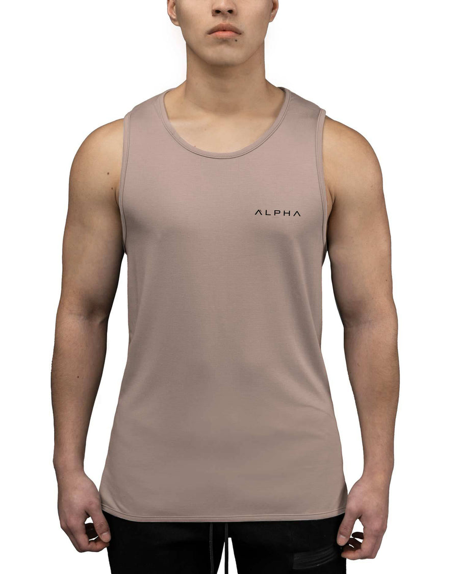 sand colored tank top