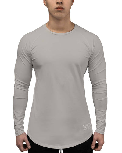 T-Shirt - LS Athleti-Fit™ - Stamped - Washed Dune