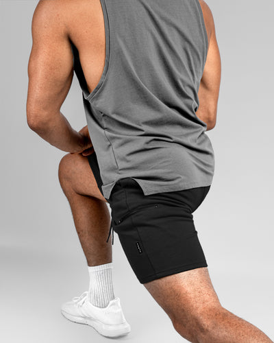 "Tech Jogger Short v.2 - 8"" - Stealth"