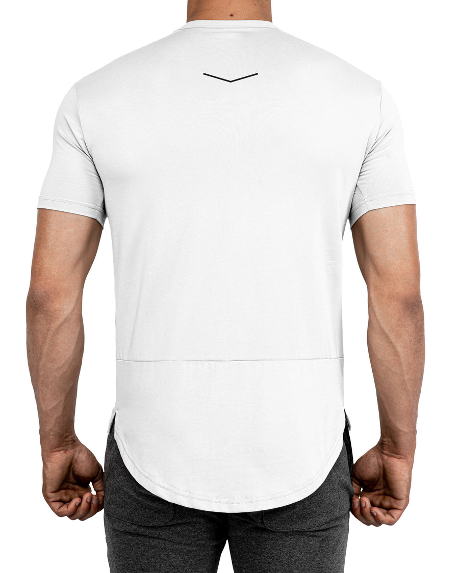 Grounded Performance Tee - Ghost