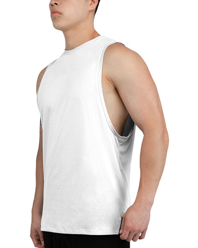 Grounded Performance Tank - Ghost