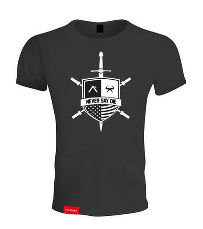 Massthetics Legion Athleti-Fit™ Tee - Black/White
